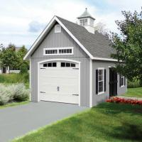 Elite Shed With Garage Door